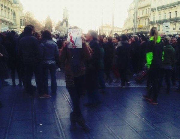 Maniff JE SUIS CHARLIE ! Montpellier ♥