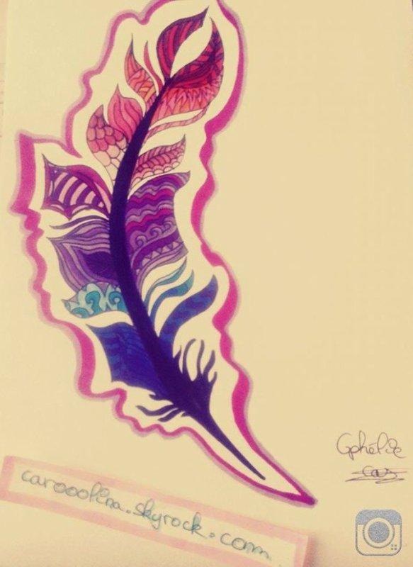 ♥ plume graphique ♥