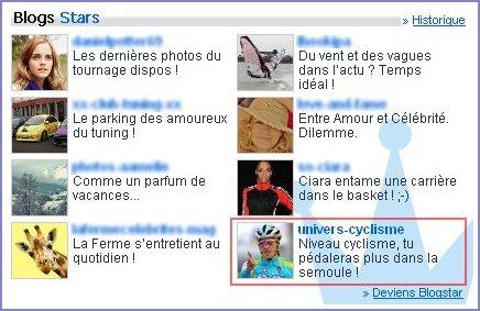 Blog Star du 17 au 22 mars 2010