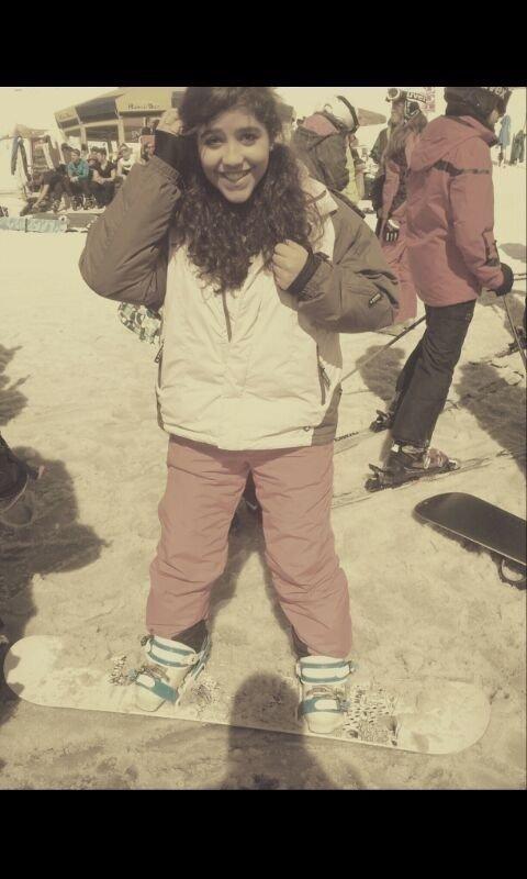 *Dernier camps de ski.* ❤