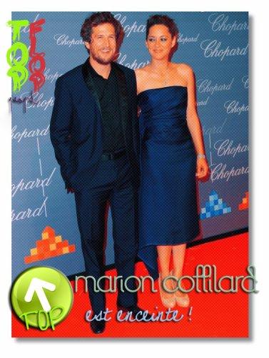 . Les beauxtourtereauxont annoncer que Marion est enceinte :) .