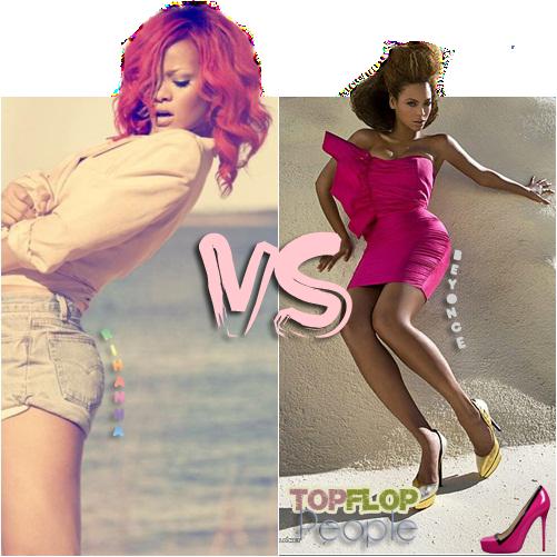 █  Vote pour ta favorite ! © J'adore Rihanna :)