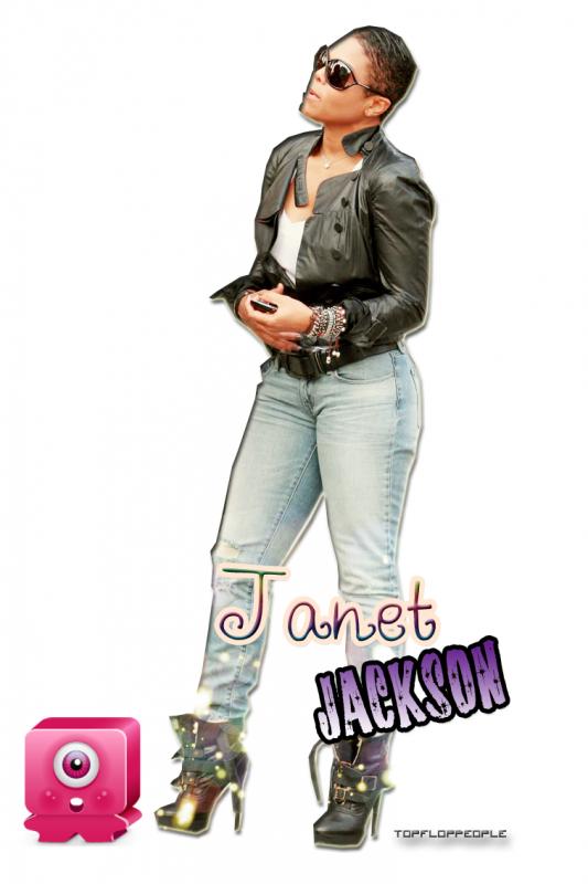 """. La pauvre Janet Jackson se fesait traitée de """" Truie"""" par ses frères durant son enfance ! Dur, dur ;$  ."""