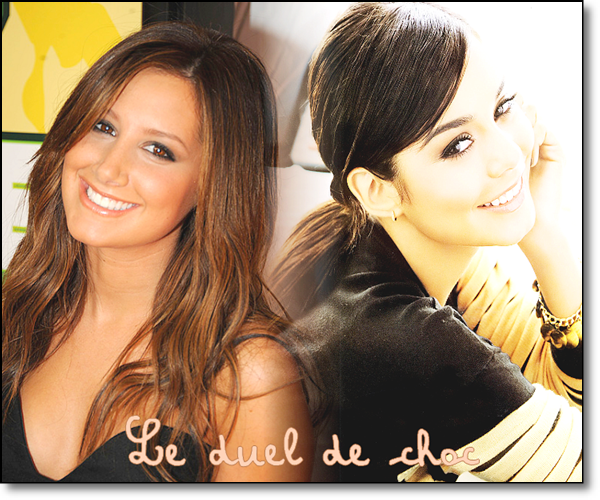 Le duel de choc : Ashley vs Vanessa ♥