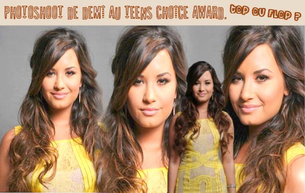 Demi Lovato. Le photoshoot TCA. Top ou Flop ?