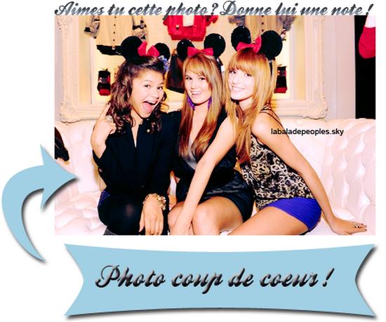 Zendaya, Bella and Debby !