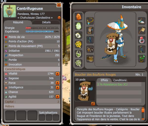 Modification de l'équipement du Pandawa !
