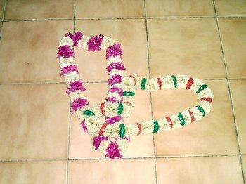 fleur comoriens pour les invité ou mariage
