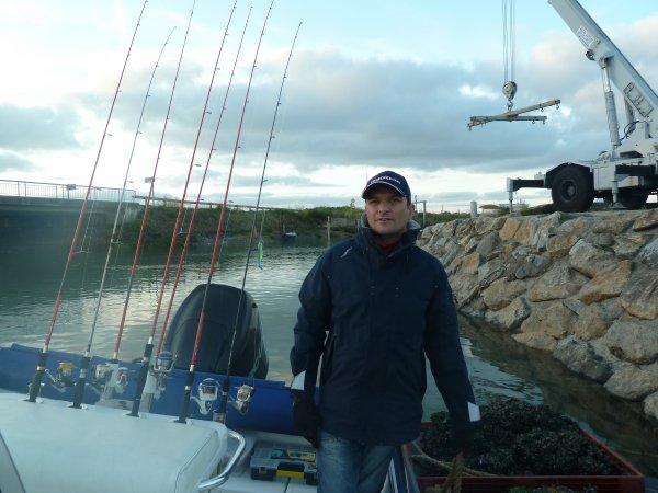 sortie en mer le 1 novembre