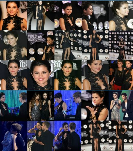 Selena était présente lors des 2011 MTV Video Music Awards à Los Angeles.