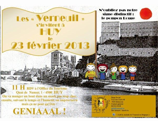 2ème rencontre Verneuil Belgique