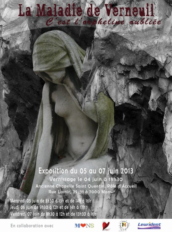 Exposition : la Maladie de Verneuil, brisons le silence