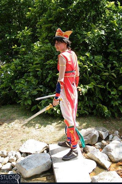 *Cosplay Lu Xun-Dynasty Warrior 3*