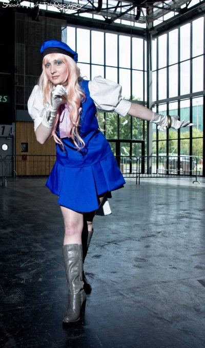 *Cosplay Sheryl Nome (French Dress)-Macross Frontier*