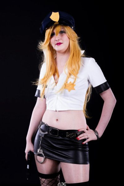 *Cosplay Anarchy Panty-Panty & Stocking with Garterbelt*