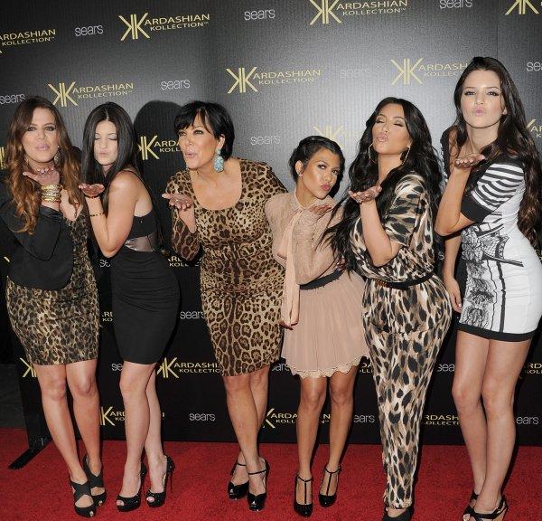 Les voeux de la famille Kardashian pour le mariage de Kim et Kris Humphries.