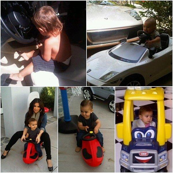 Regardez qui veut apprendre à conduire !