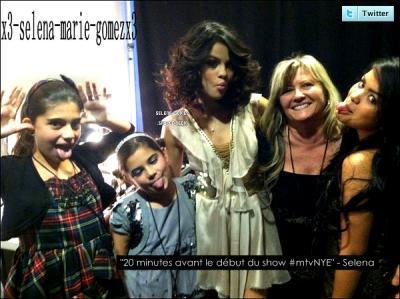 Image provenant du twiter de Selena Gomez