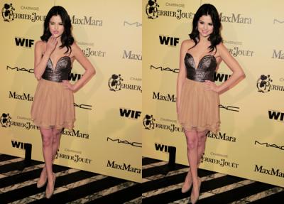 24/02/12 : Selena s'est rendue à la 5ème cérémonie des « Women In Film Pre-Oscar Cocktail Party »