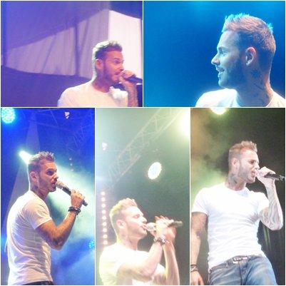 Twitter de Matt + D&CO + des photos d'un des concert de M.pokora