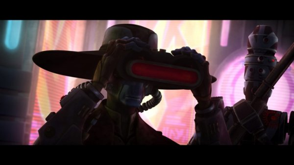 Clone Wars CAD BANE
