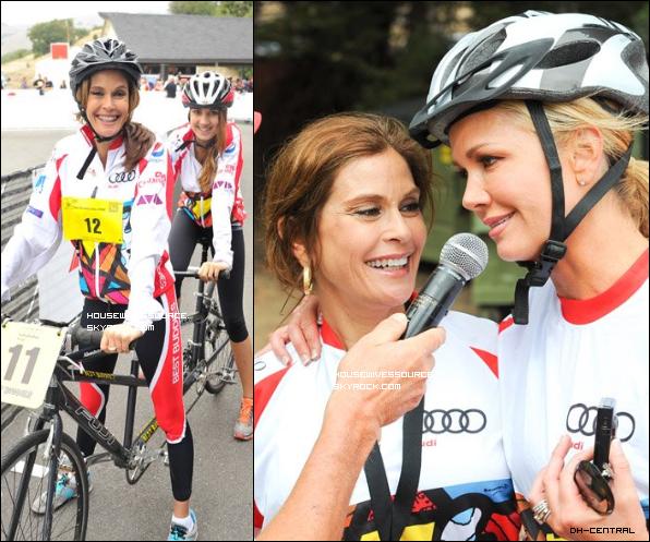 """. 10 septembre 2011 : Teri et sa fille ont participer au """" Audi Best buddies Challenge """" a Los Angeles .."""