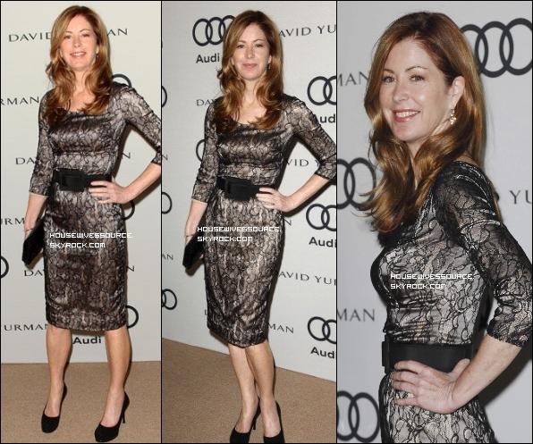 ". 11 septembre 2011 : Dana a la 63ème "" Audi primetime Emmy Accorde "" a Hollywood .."