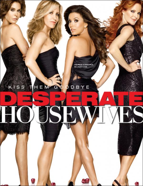 .   Voici le poster promotionnelle de la saison 8 de Desperate Housewives et de la saison 2 de Body of Proof ..