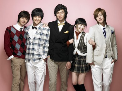 Boys over flowers / Boys before flowers