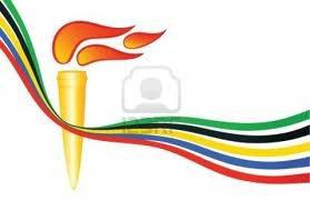 La Flamme Olympique.