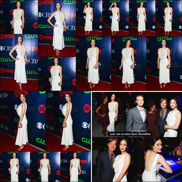 - 10/08/15 - Emmy R. était présente lors du '« Summer TCA Press Tour » à West Hollywood avec ses co-stars ! La quasi-totalité du casting de Shameless était présent lors de l'événement. Em a prit la pose en compagnie de William H. Macy & Shanola Hampton-
