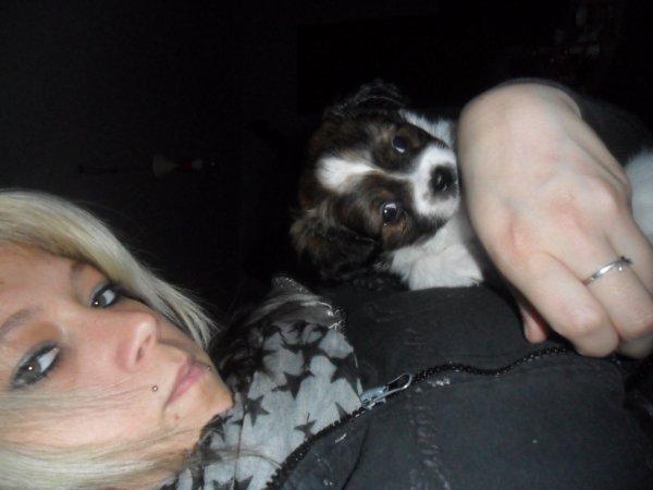 mon petit chien et moi