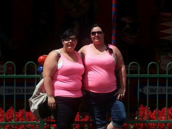Ma soeur et moi a europa park
