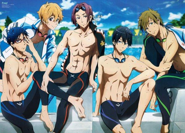 Free ! Iwatobi Swim Club !