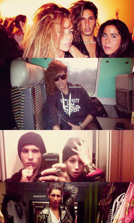 ♦ photos personnelles d'eddy dont deux avec son amie juliette de secret story 5.