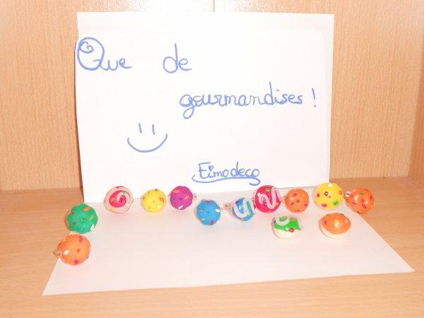 Multicolours donuts !