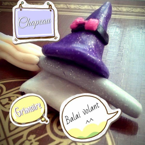 Accessoire d'une parfaite sorcière :)