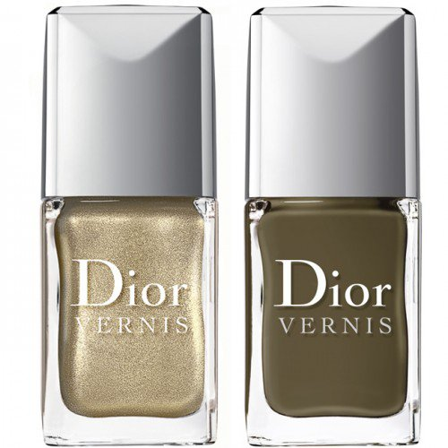 vernis effet croco Dior Golden Jungle.
