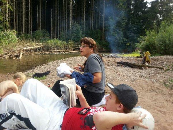 Barbec au bord de l eau
