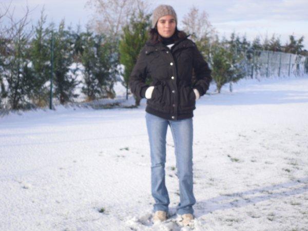 dans la neige j aime bien