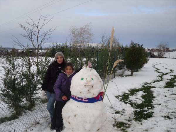 quel bonhomme de neige