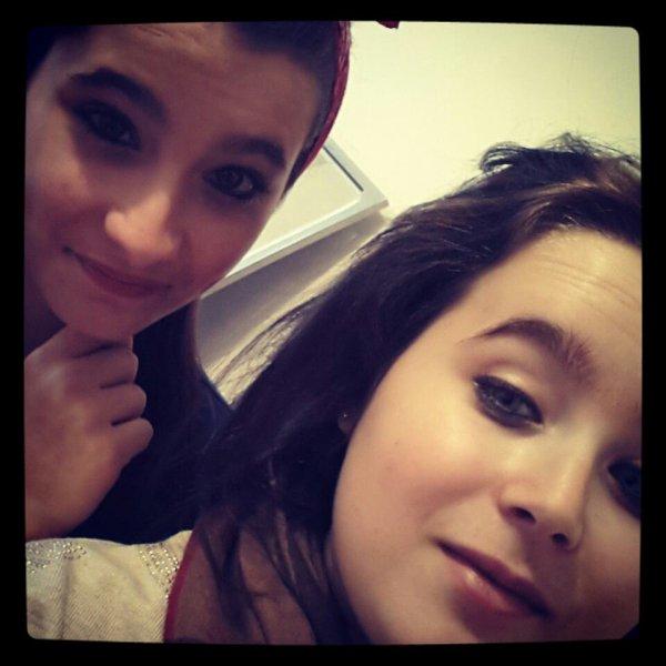 Avec la cousine ♡