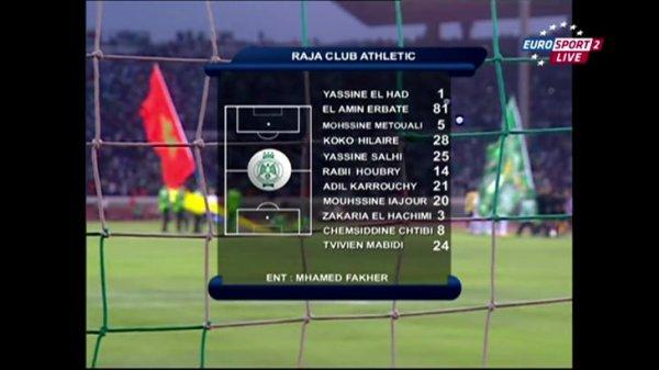 RCA Casablanca - best Football Team in Morocco