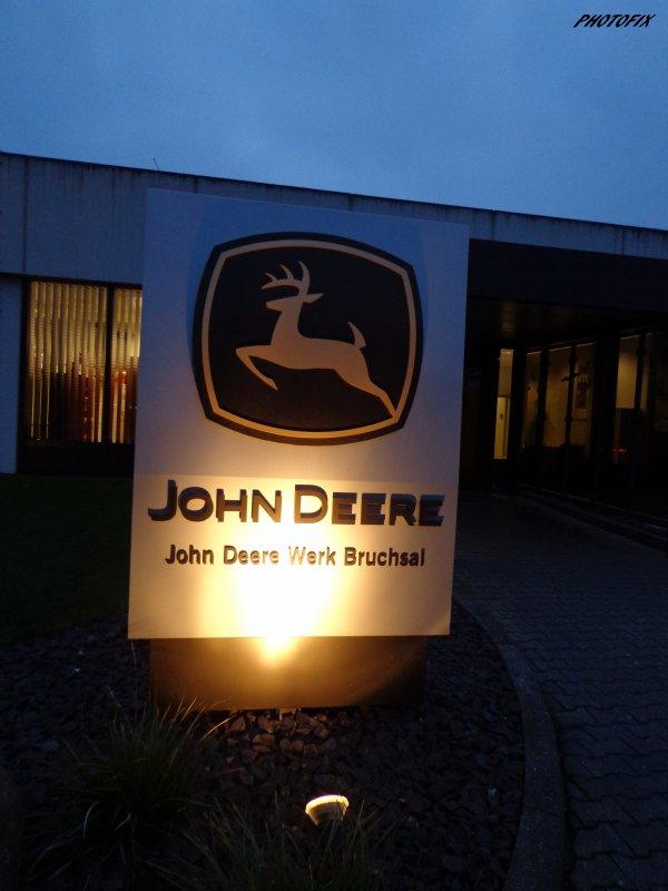 Visite John Deere en Allemagne