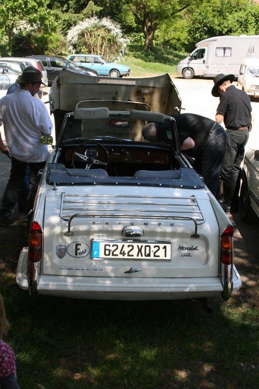 TRIUMPH Hérald Cabriolet 1967