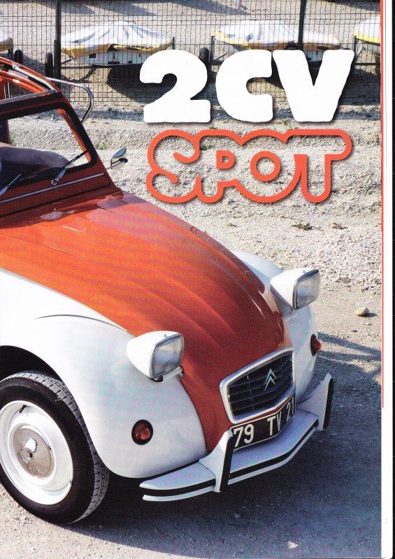 "2 cv ""SPOT"" de Christophe"