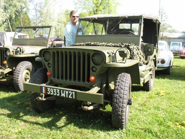 Vincent et sa Jeep