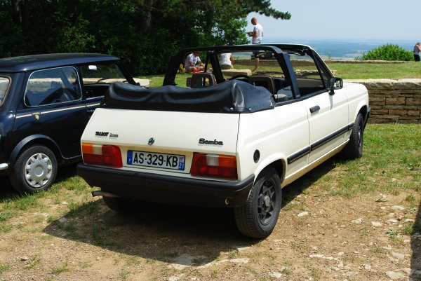 Talbot Samba Cab
