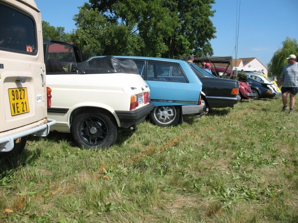 Flagey - SRT - Juin 2011 - Nos voitures