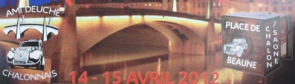 14.04.2012 - CHALON SUR SAONE